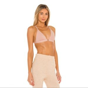 Free People Oh Scuba Bralette in Antique Shell L